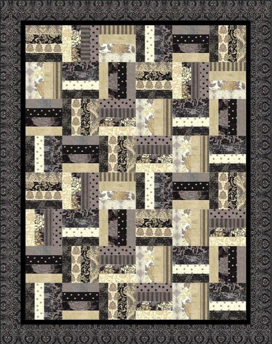 Beautiful 11 rail fence quilt patterns a couple are even for jelly 9 Elegant Fence Rail Quilt Pattern Gallery