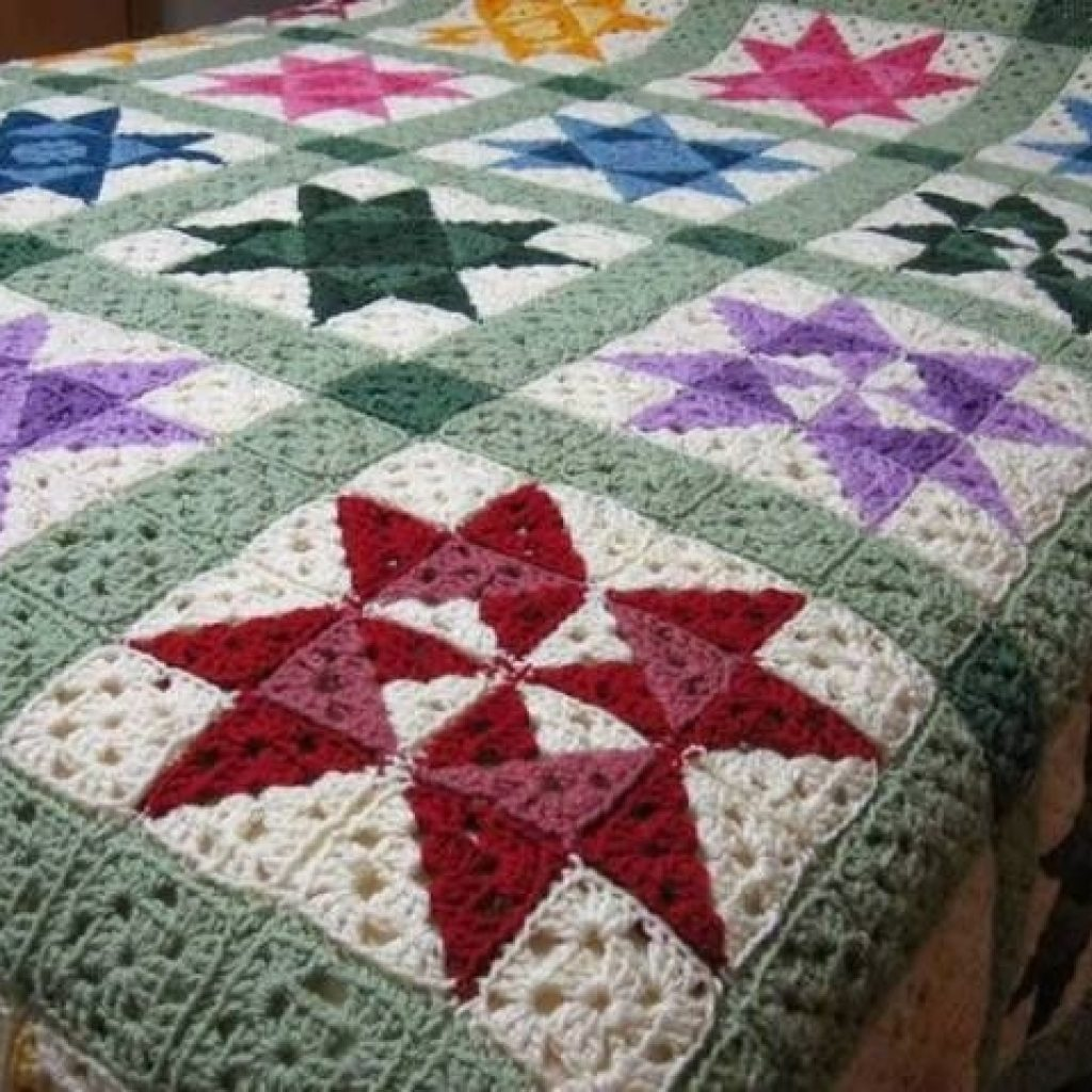 Beautiful easycrochet quilt afghan pattern crochet quilt pattern Elegant Crochet Quilt Afghan Patterns Inspirations