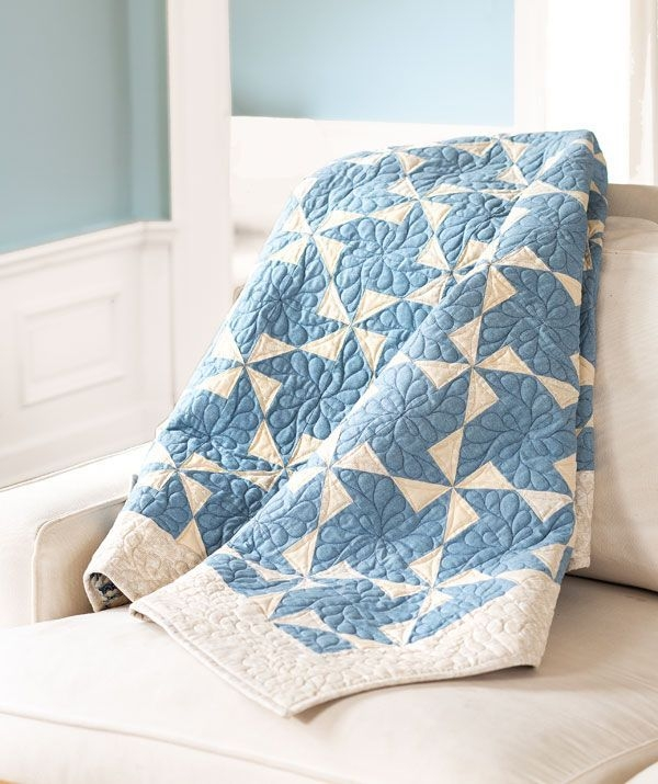 11 Stylish Two Color Quilts Patterns