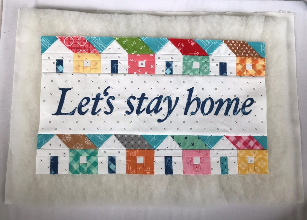 Beautiful lets stay home sewing instructions for a mini quilt part 11 Cool Sew Let'S Quilt It Inspirations