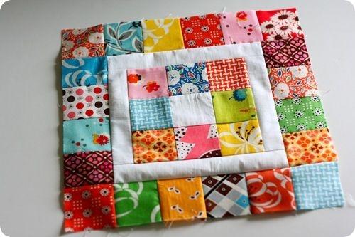 Beautiful pin fabric on quilting quilts quilt blocks 10 Modern Patchwork Square Quilt Patterns Inspirations