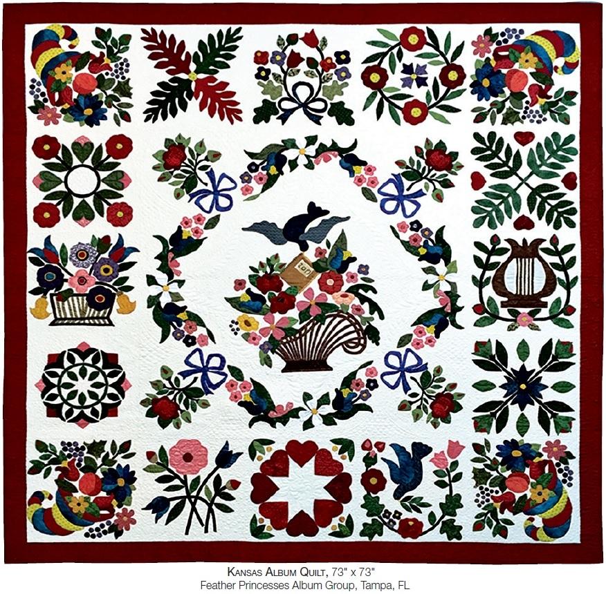 Beautiful quilt 2018 baltimore album quilts aqs blog 11 Cool Baltimore Album Quilt Patterns Inspirations