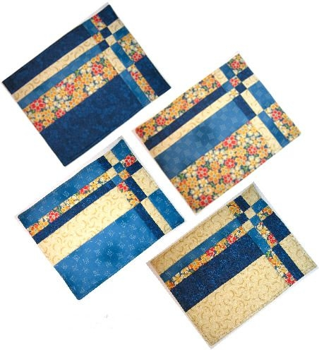 Beautiful quilting books patterns and notions placemats patterns 11 Cozy Placemat Patterns Quilted Inspirations