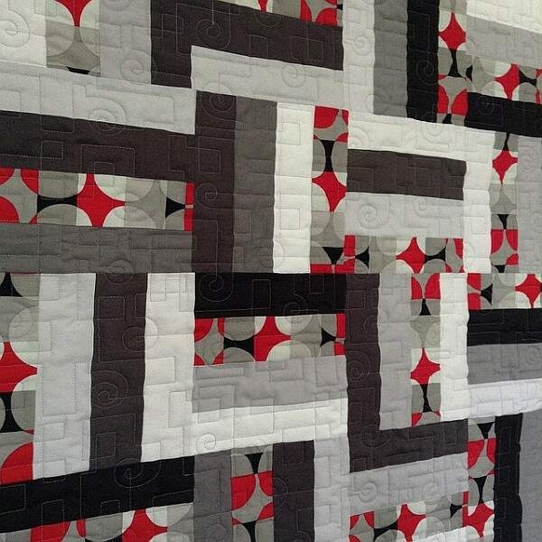 Beautiful rail fence quilt patterns new quilters 9 Elegant Fence Rail Quilt Pattern Gallery