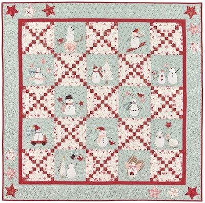 Beautiful snowbound 10 Interesting Bunny Hill Quilt Patterns Inspirations
