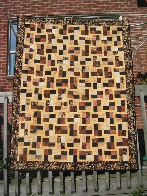 Beautiful sparkling gemstones from the book jelly roll quilts pam 10 Cool Sparkling Genstones Quilt Pattern