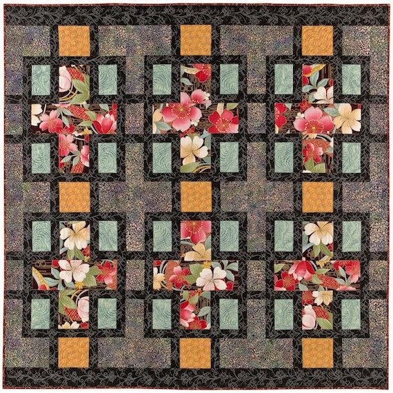 Beautiful through the window quilt pattern 10   Through The Window Quilt Pattern
