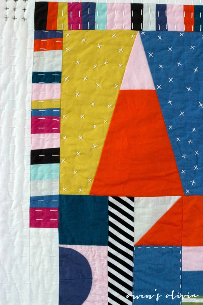 colorful contemporary quilts handmade charlotte 10   Contemporary Quilts Inspirations