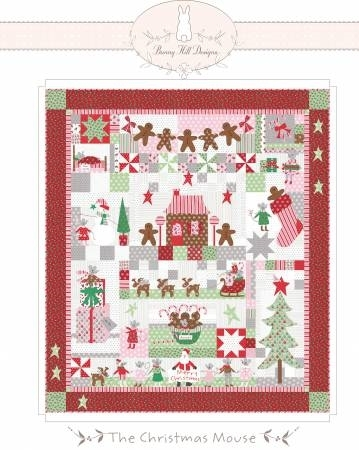 Cool christmas mouse quilt pattern from bunny hill 10 Interesting Bunny Hill Quilt Patterns Inspirations