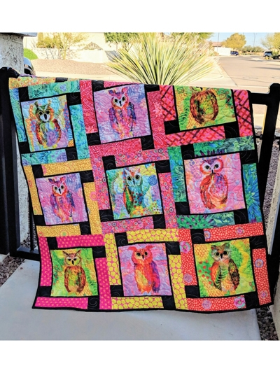 Cool easy block quilt patterns for beginners be creative 11 Interesting Easy Block Quilt Patterns