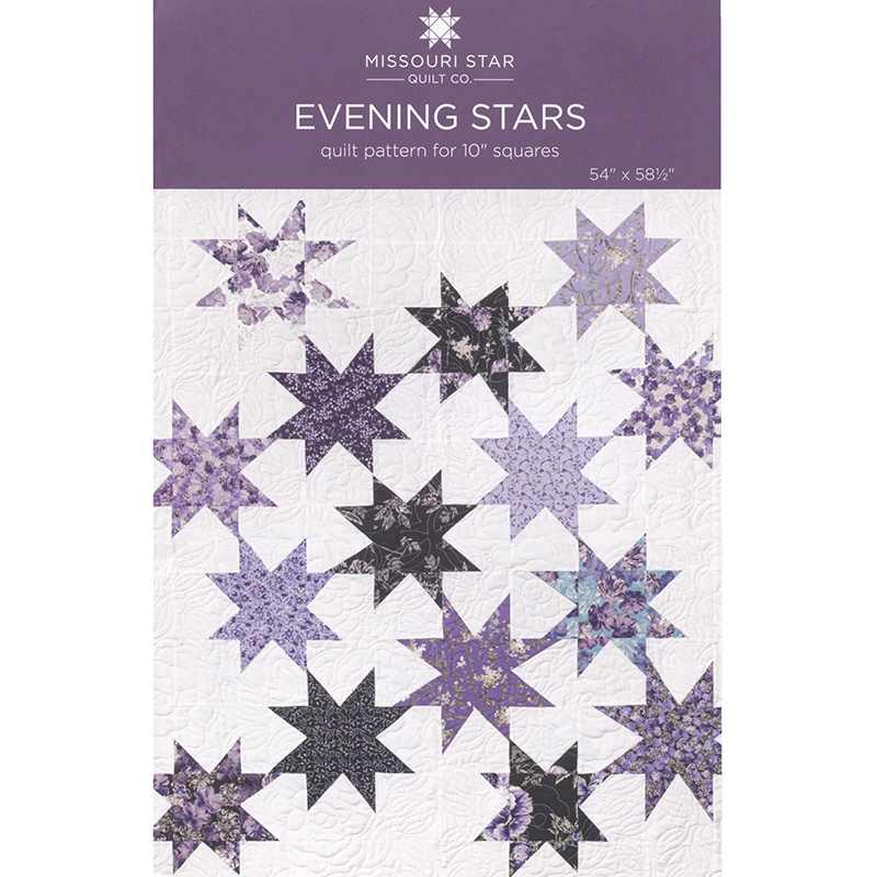 Cool evening stars quilt pattern missouri star missouri star 11 Stylish Wholesale Quilt Patterns Gallery