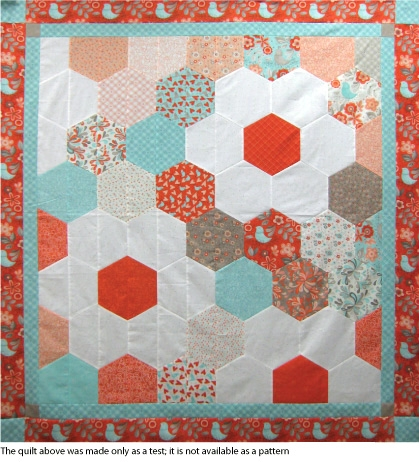 Cool hexagon ruler at from marti featuring quilting with the 11 Unique Half Hexagon Quilt Pattern Gallery