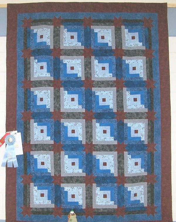 Cool pin on log cabin quilts Cozy Eleanor Burns Log Cabin Quilt Pattern
