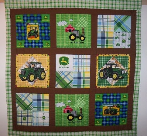 Cool pin on quilts 11 New John Deere Quilt Patterns Gallery