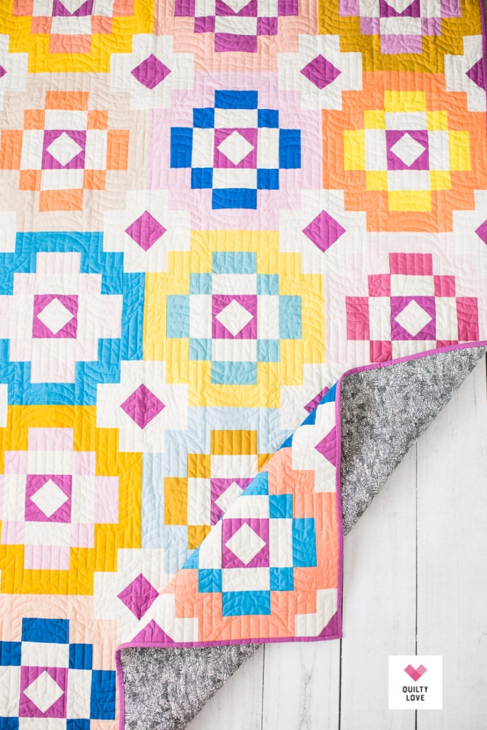Cool southwest sunshine a new modern quilt pattern quilty love 9 Stylish Southwestern Quilt Patterns