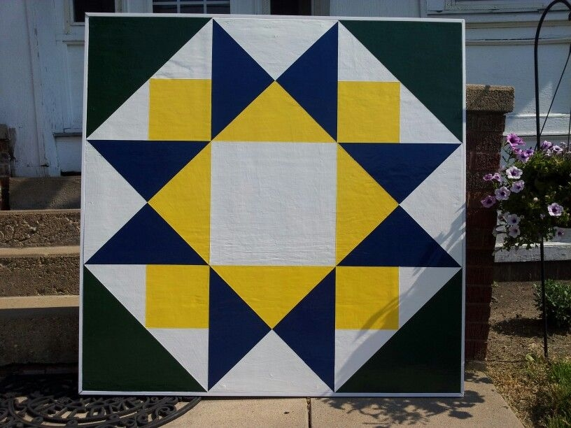 Cozy morning star barn quilt barn quilts barn quilt patterns 9   Barn Quilt Block Pattern