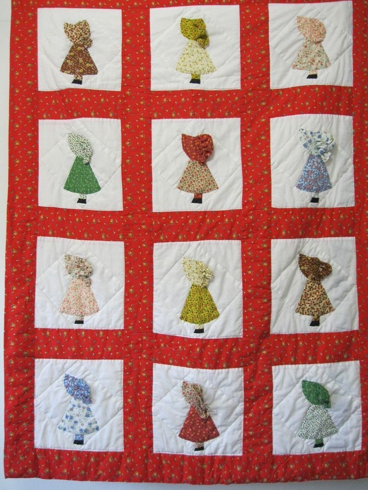Cozy pin on cutesy quilts New Holly Hobbie Quilt Pattern Inspirations