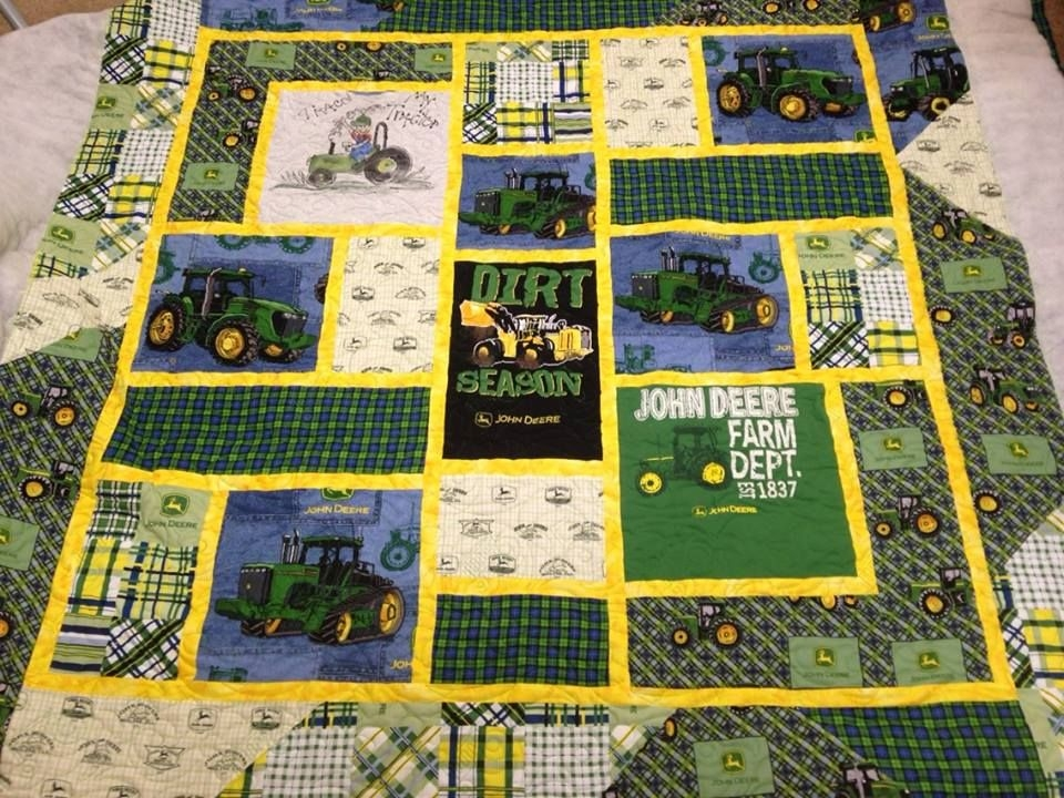 Cozy pin on quilting and sewing 11 New John Deere Quilt Patterns Gallery