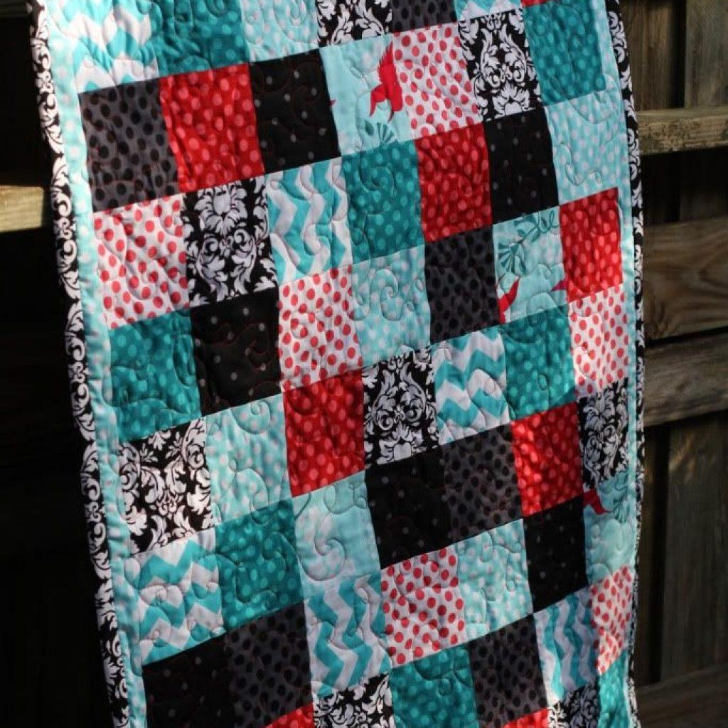 Cozy quilting 101 beginner quilt patterns quilt patterns 9 Cool Easy Beginner Block Quilt Patterns Inspirations