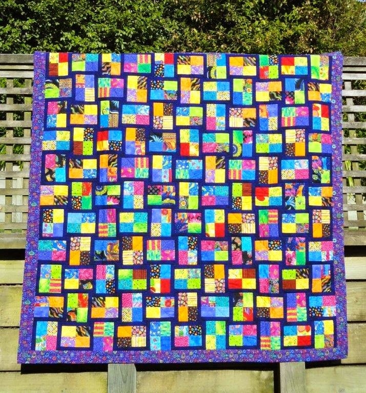 Cozy wendys quilts and more sparkling gemstones jelly roll quilt 10 Cool Sparkling Genstones Quilt Pattern