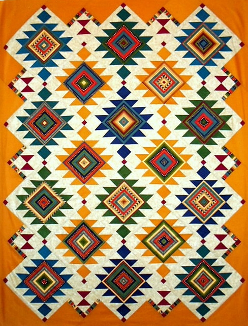 crafts ab southwest quilt 9 Stylish Southwestern Quilt Patterns