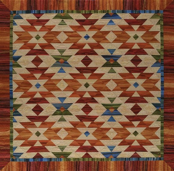 Elegant four corners quilts 2013 flagstaff arts council 9 Stylish Southwestern Quilt Patterns