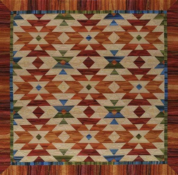 Elegant four corners quilts 2013 flagstaff arts council 9 Stylish Southwestern Quilt Patterns