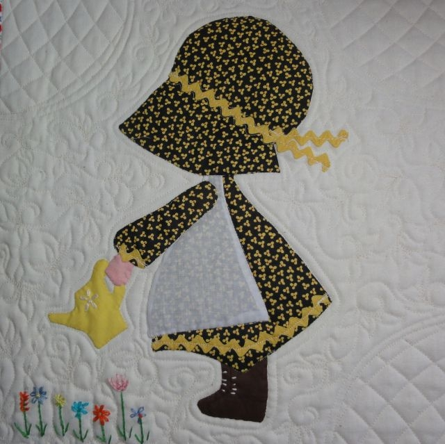 Elegant holly hobbie a finished quilt 30 years in the making and New Holly Hobbie Quilt Pattern Inspirations