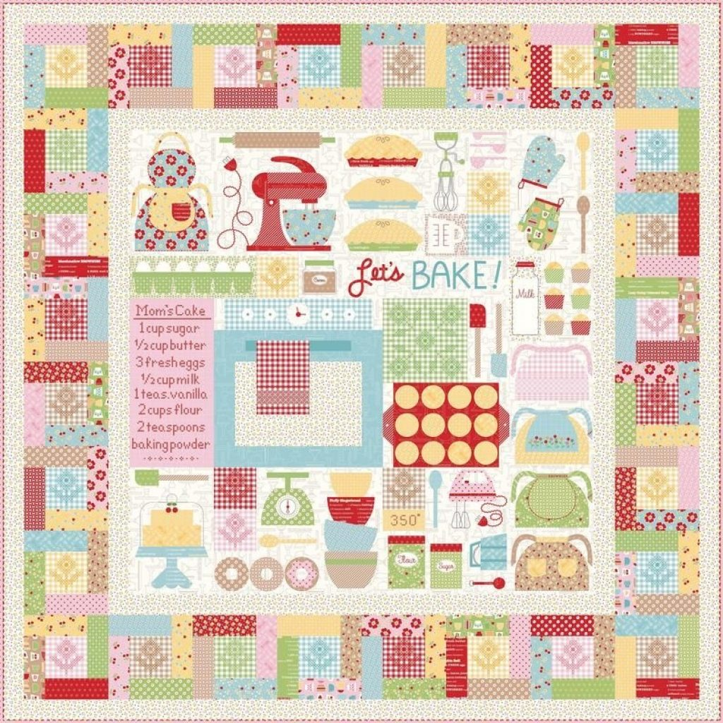 Elegant lets bake sew simple shapes in 2020 quilt kits quilt 11 Cool Sew Let'S Quilt It Inspirations