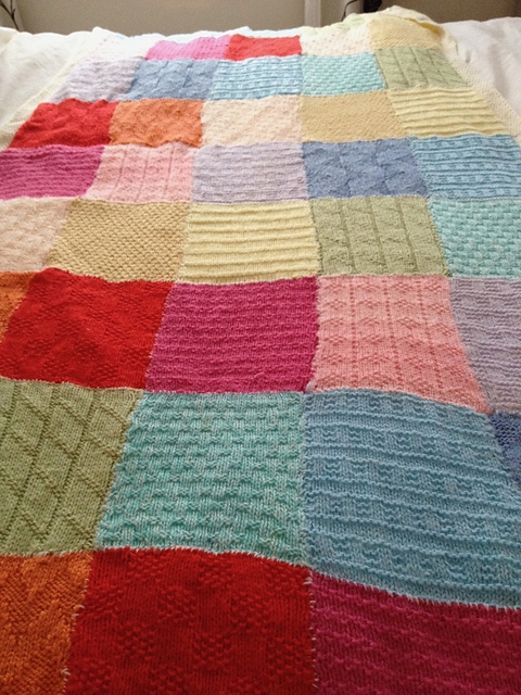 Permalink to 11 Stylish Patchwork Quilt Knitting Pattern