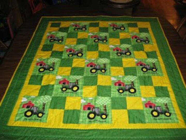 Elegant pin on quilting ideas 11 New John Deere Quilt Patterns Gallery