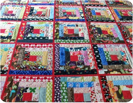 Elegant qayg quilt almost done log cabin quilt pattern quilts 9 Stylish Log Cabin Patterns For Quilting Inspirations