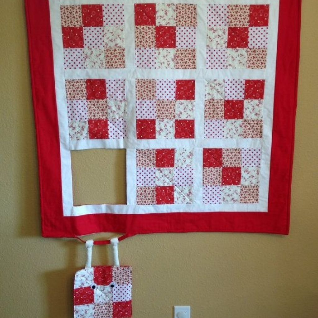 Elegant this humorous wall hanging will be custom made for you in 11 Interesting Quilt Wall Hanging Patterns