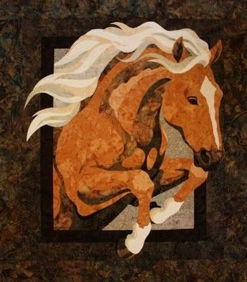 Elegant toni whitney art quilts horse quilt applique quilts art 9   Toni Whitney Quilt Patterns Gallery