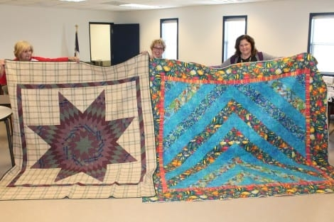 handmade quilts donated to ls retreat crystal beach local 9 Cool Golden Triangle Quilt Guild