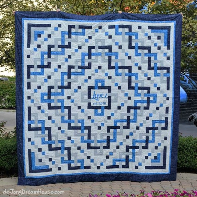 Interesting de jong dream house quilt 66 ang sergios trinity 11 Cool Celtic Knot Quilt Pattern
