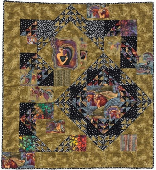 Interesting easy quilt patterns for large print fabrics stitch this 10   Quilt Patterns For Large Print Fabrics Inspiration Inspirations