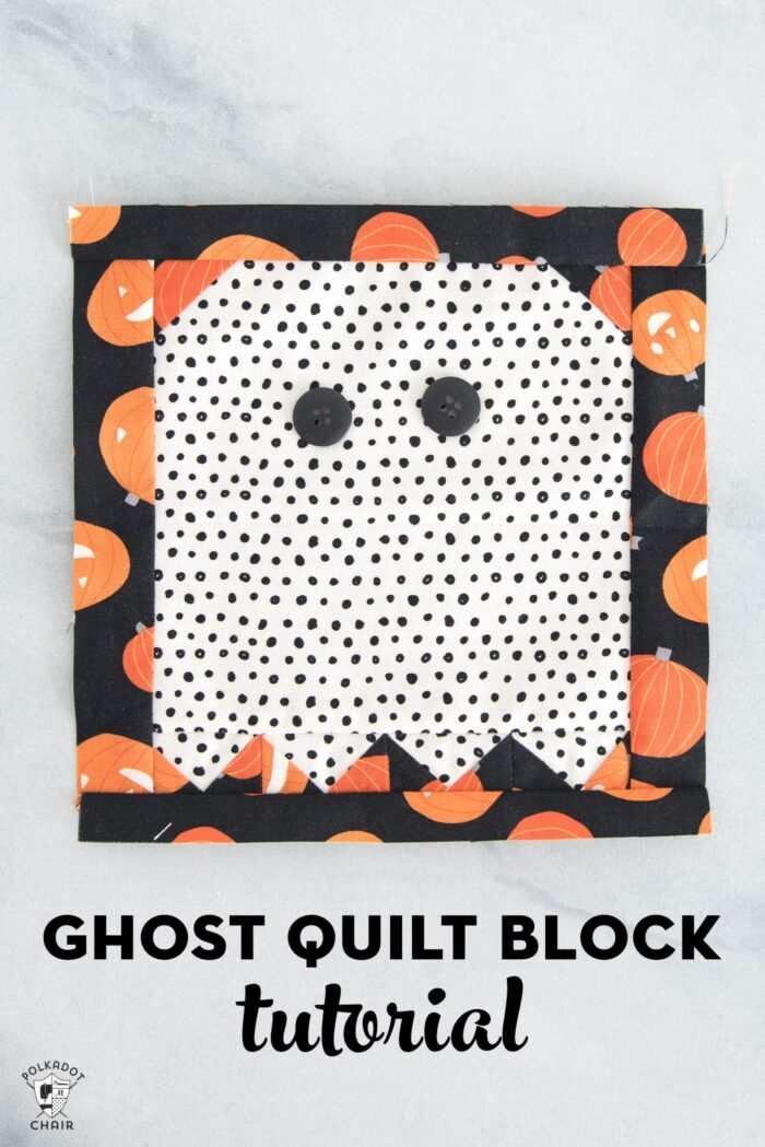 Interesting ghost quilt block tutorial the polka dot chair 11 Cool The Witch Is In Quilt Pattern Inspirations