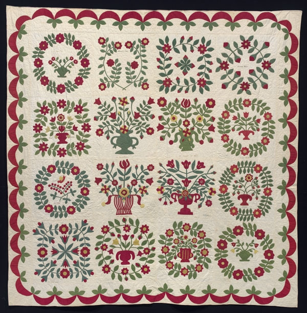 Interesting stories in the seams the ruth penn baltimore album quilt 11 Cool Baltimore Album Quilt Patterns Inspirations