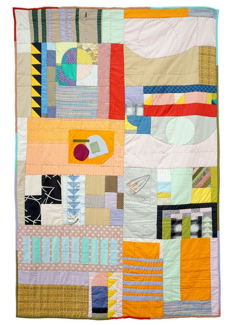 Interesting these stunning contemporary quilts are not bound crafty 10   Contemporary Quilts Inspirations