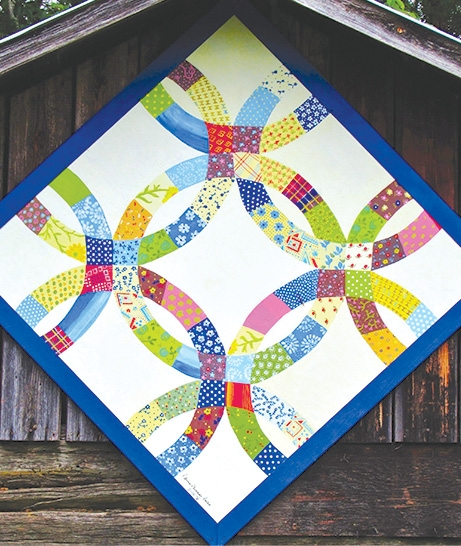 Interesting whats a barn quilt the suffield observer 9   Barn Quilt Block Pattern