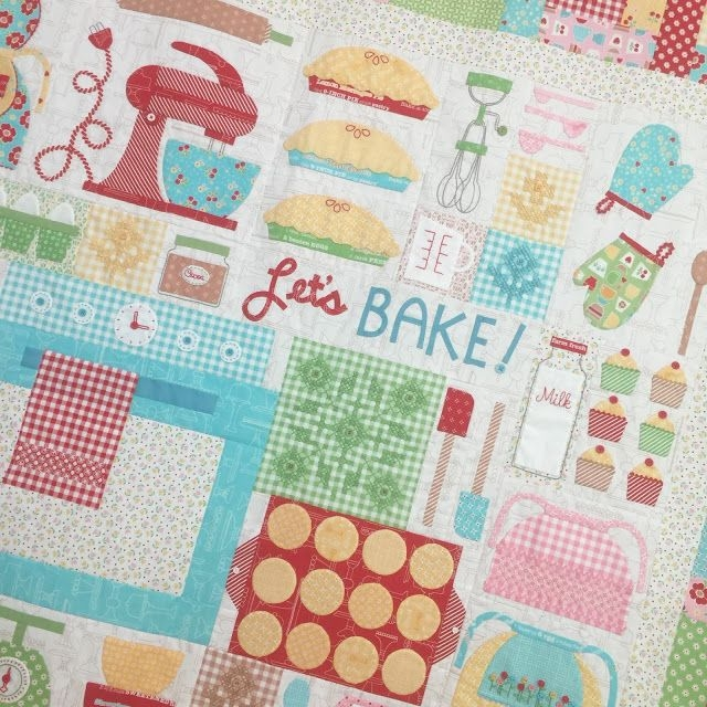 lets bake sew along big finish riley blake designs 11 Cool Sew Let'S Quilt It Inspirations