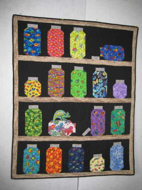 Modern bug jar quilt quiltingboard forums New Bugs In A Jar Quilt Pattern