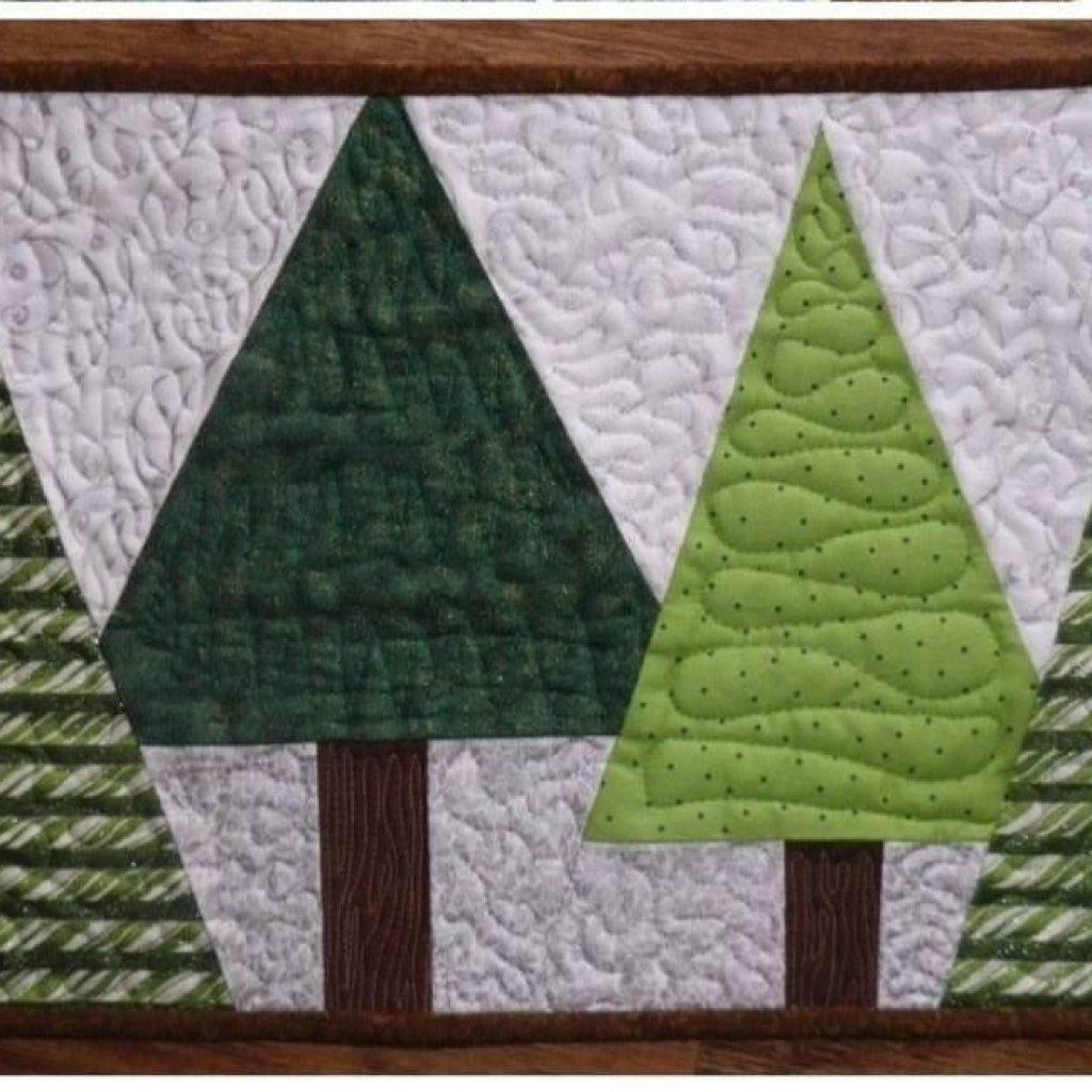 Modern free sewing pattern christmas placemat i sew free 11 Cozy Quilted Christmas Placemat Patterns Free