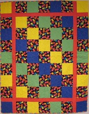 Modern hearts for linus easy squares quilt quilt patterns easy 11 Interesting Linus Project Quilt Patterns Inspirations
