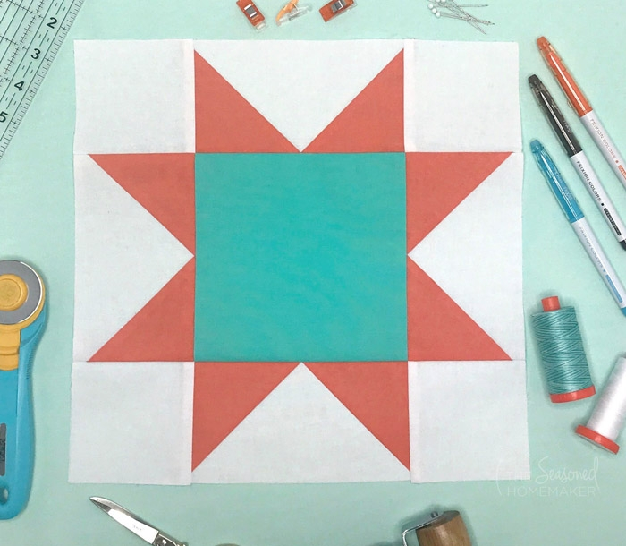 Modern how to make a perfect sawtooth star quilt block the 12.5 Quilt Block Patterns