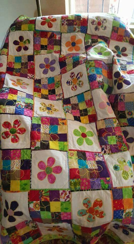 Modern pattern idea really cute from 24 blocks quilt patterns Elegant Floral Patchwork Quilt Patterns