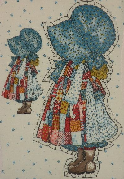 Modern pin on sunbonnet sue and sam New Holly Hobbie Quilt Pattern Inspirations