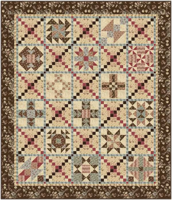 Modern southern vintage quilt pattern 10 Beautiful Vintage Quilt Pattern Inspirations