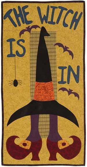 Modern the witch is in of course halloween quilts witch 11 Cool The Witch Is In Quilt Pattern Inspirations